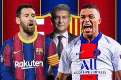 Tân chủ tịch Barca: Giữ Messi, mua Mbappe