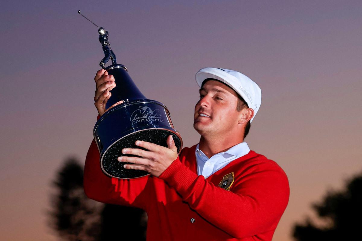 'Dị nhân' DeChambeau lần thứ 8 giành PGA Tour