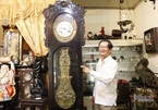 Man collects vintage timepieces from far and wide
