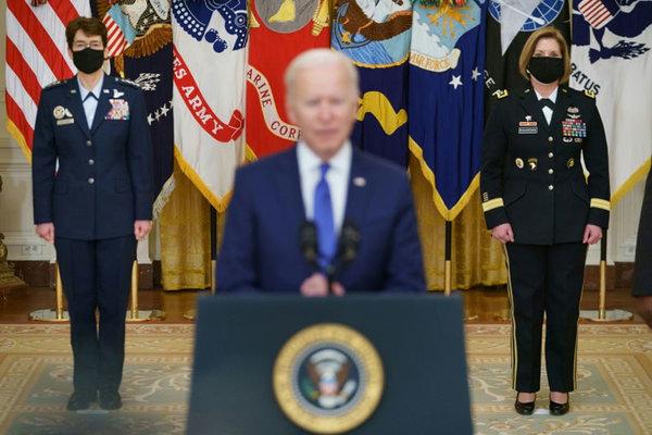 Ông Biden bổ nhiệm hai nữ tướng quân đội