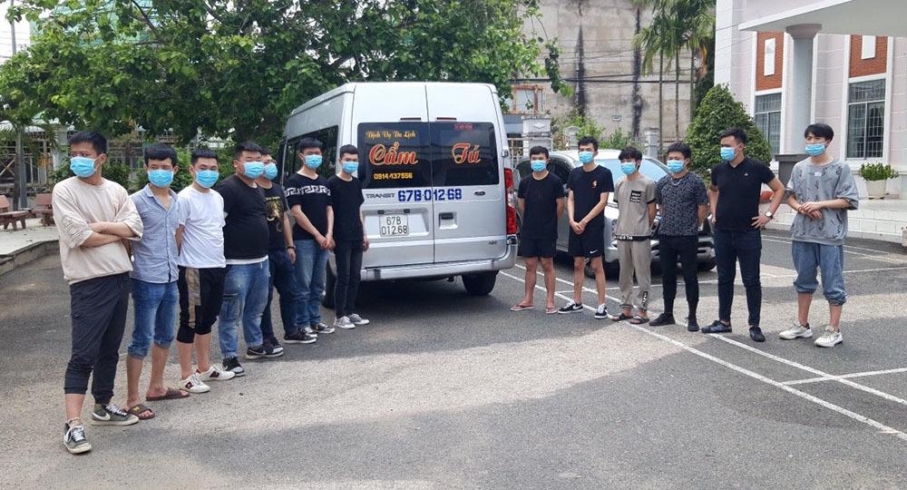 Phát hiện 34 người Trung Quốc nghi nhập cảnh trái phép ở An Giang