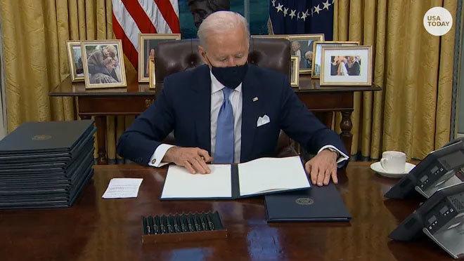 Liên minh 12 bang kiện Tổng thống Joe Biden