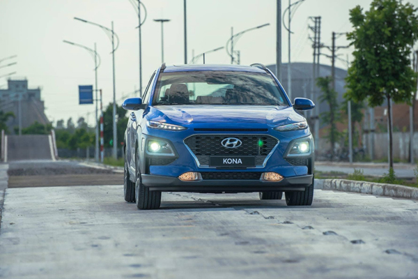 Hyundai Kona: trẻ trung, hiện đại