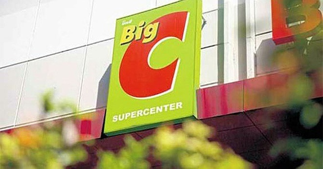 retailer,Big C,supermarket chains
