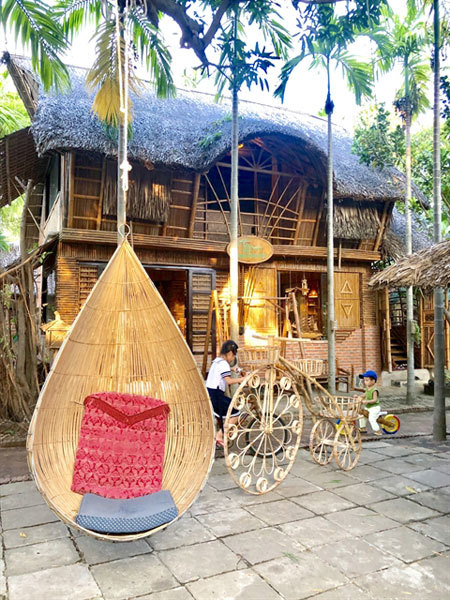 Hoi An travel,Taboo Bamboo Workshop