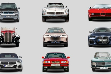 Lưới tản nhiệt quả thận của BMW thay đổi ra sao sau gần 90 năm