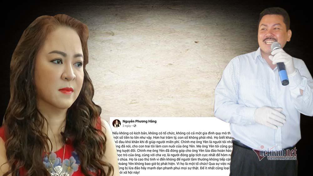 Công an mời vợ đại gia Dũng 'lò vôi' làm việc liên quan đến tố cáo Võ Hoàng Yên