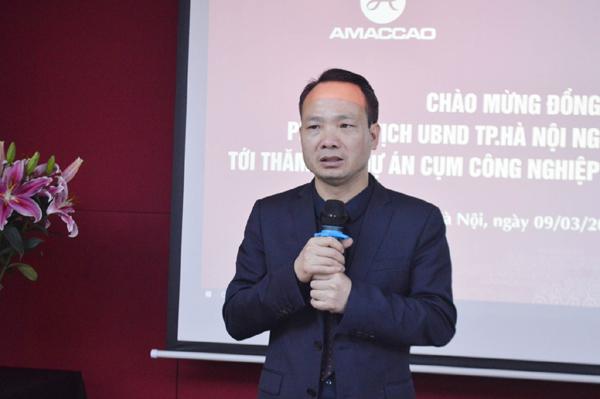 Lãnh đạo TP. Hà Nội thăm các cụm công nghiệp AMACCAO