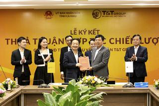 T&T Group hợp tác chiến lược với tỉnh Lào Cai và Cà Mau