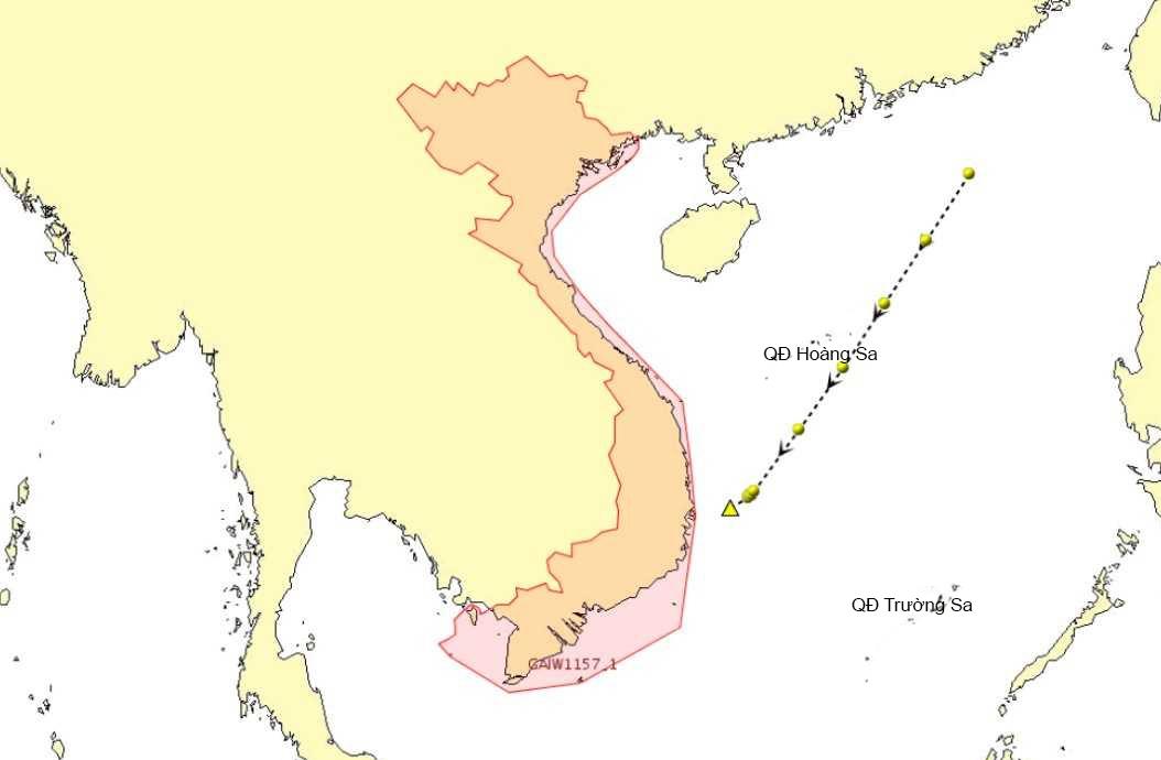Tàu cá Việt Nam bị đâm chìm ngoài biển, 2 người mất tích