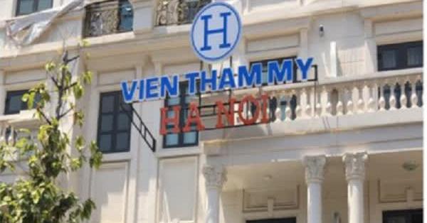 TP.HCM: Phát hiện 'Viện thẩm mỹ Hà Nội' hoạt động không phép từ tin báo của người dân