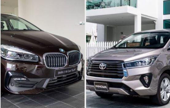 BMW 218i giảm giá rẻ ngang Toyota Innova, nên mua xe nào?