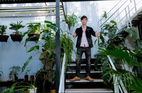 Chàng trai 9X từ cậu bé mồ côi thành ông chủ 3 vườn lan
