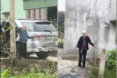 Mẹ 103 tuổi chống gậy ra cổng, bịn rịn chia tay con gái 80 tuổi