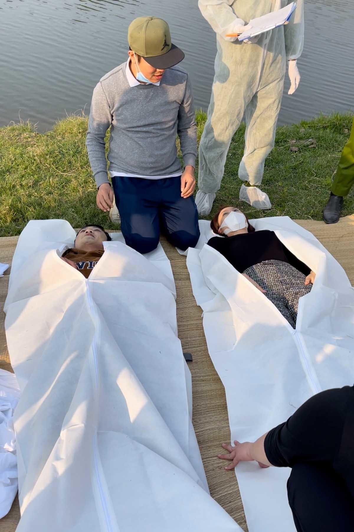 Hậu trường cảnh Châu, Phúc giả vờ chết ở 'Hướng dương ngược nắng'