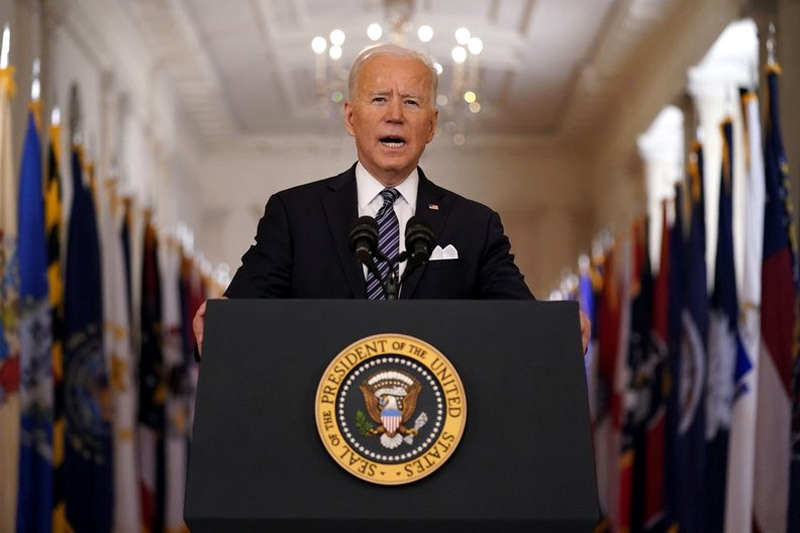 Ông Biden lên án bạo lực với người gốc Á, 'chốt' mục tiêu chống Covid-19