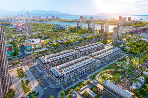 Đất Xanh Miền Trung phát triển dự án shophouse mới ở Đà Nẵng