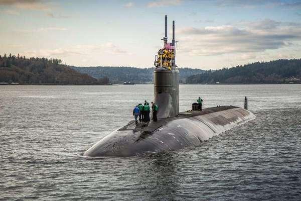 Tàu ngầm tối tân nhất của Mỹ 'thất thủ' vì nguyên nhân không ngờ