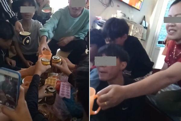 Cô giáo uống bia với học trò ở Thanh Hóa bị phạt 7,5 triệu đồng