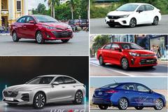 5 sedan bán chạy nhất tháng 2: Xe Việt chen chân