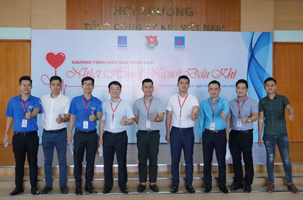 Ngày hội hiến máu nhân đạo 'Nhiệt huyết người Dầu khí' ở PV GAS
