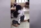 Nữ sinh Sài Gòn đánh bạn dã man ngay trong lớp học