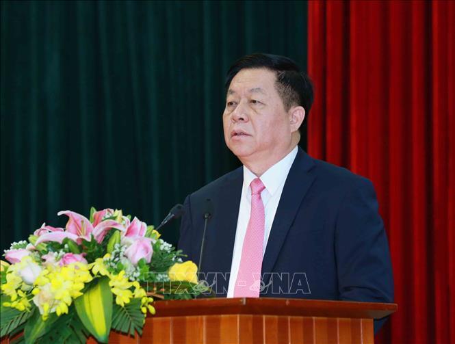 Trưởng ban Tuyên giáo Trung ương và đại biểu Quốc hội tỉnh Tiền Giang tiếp xúc cử tri