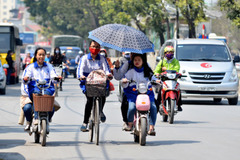 Đua xe đạp điện có thể bị tịch thu xe