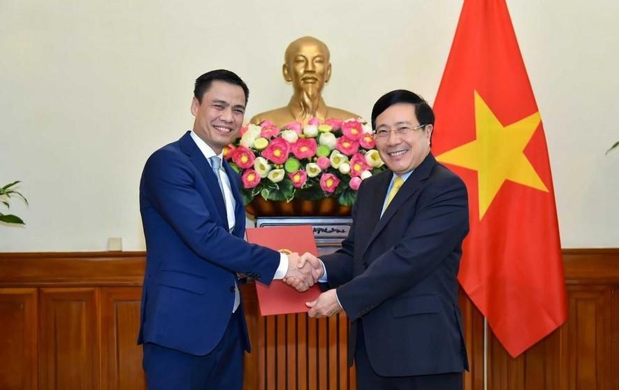 Ông Đặng Hoàng Giang làm Thứ trưởng Bộ Ngoại giao