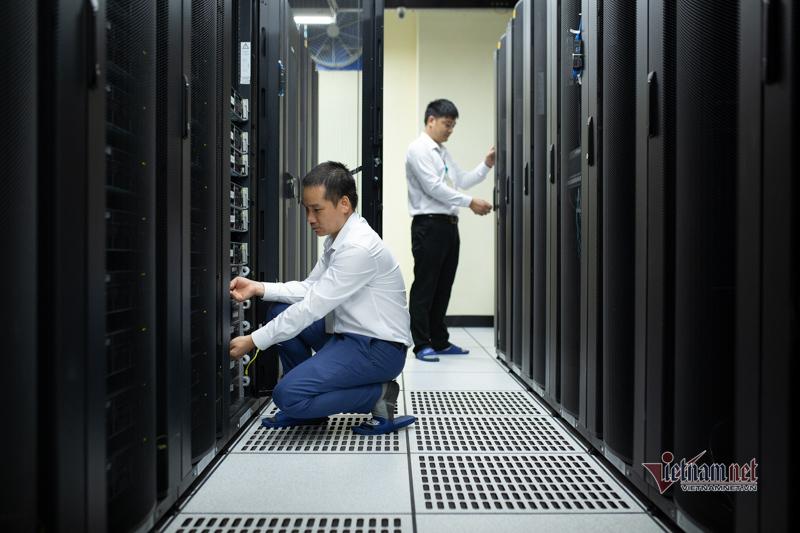 Khám phá trung tâm dữ liệu lớn nhất miền Bắc