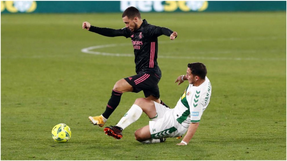 Trực tiếp Real Madrid vs Elche: Chờ Hazard tái xuất