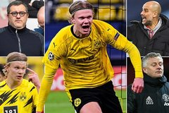 Man City dẫn đầu ký Haaland giá 90 triệu bảng, MU tiếc đứt ruột