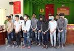 21 thanh, thiếu niên mang hung khí chở nhau đi giải quyết mâu thuẫn