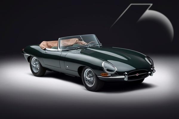Xế cổ Jaguar E-Type được 'hồi sinh' sau 60 năm