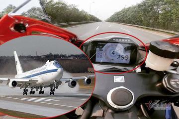 Chạy xe với tốc độ 300 km/h nhanh cỡ nào?