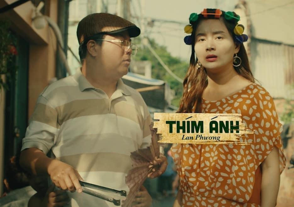 Lan Phương sung sướng vì bị tát sấp mặt trong phim 'Bố già'