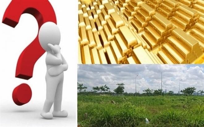 Giá vàng khó bứt phá, có nên bán vàng mua đất?