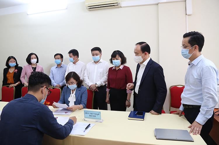 Hà Nội nhận hồ sơ 30 người tự ứng cử Đại biểu Quốc hội khóa XV