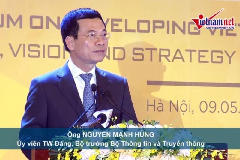 Doanh nghiệp công nghệ Việt Nam là để Make in Vietnam