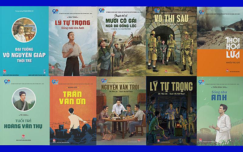 Ra mắt bộ sách về các anh hùng tuổi trẻ Việt Nam