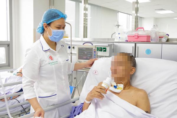Người đàn ông Hà Nội đột quỵ, máu đóng cục trong não