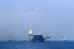 'Vật cản' đối với tham vọng vượt hải quân Mỹ của Trung Quốc