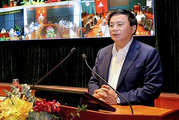 Giới thiệu Ủy viên Bộ Chính trị Nguyễn Xuân Thắng ứng cử ĐBQH khóa XV