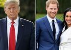Vì sao ông Trump 'không dám' công khai bình luận vụ Harry-Meghan?