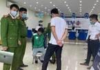 Kẻ mặc đồng phục Grab xông vào cướp ngân hàng ở Hà Nội