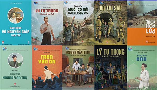 New books,Vietnamese young heroes,vietnam literature