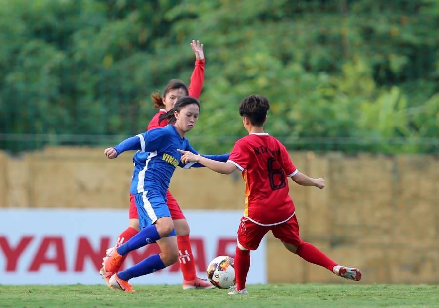 Săn 'ngọc thô' từ giải bóng đá nữ U19 quốc gia