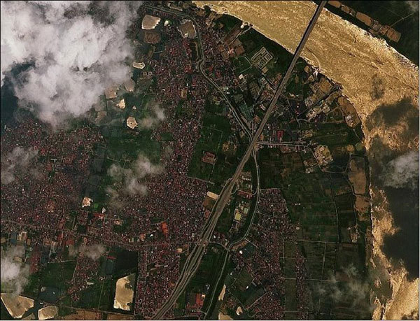 Satellite images provide clear picture of greenhouse gas emissions