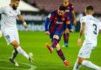 Messi bùng nổ trong ngày lịch sử, Barca thắng bàn set tennis