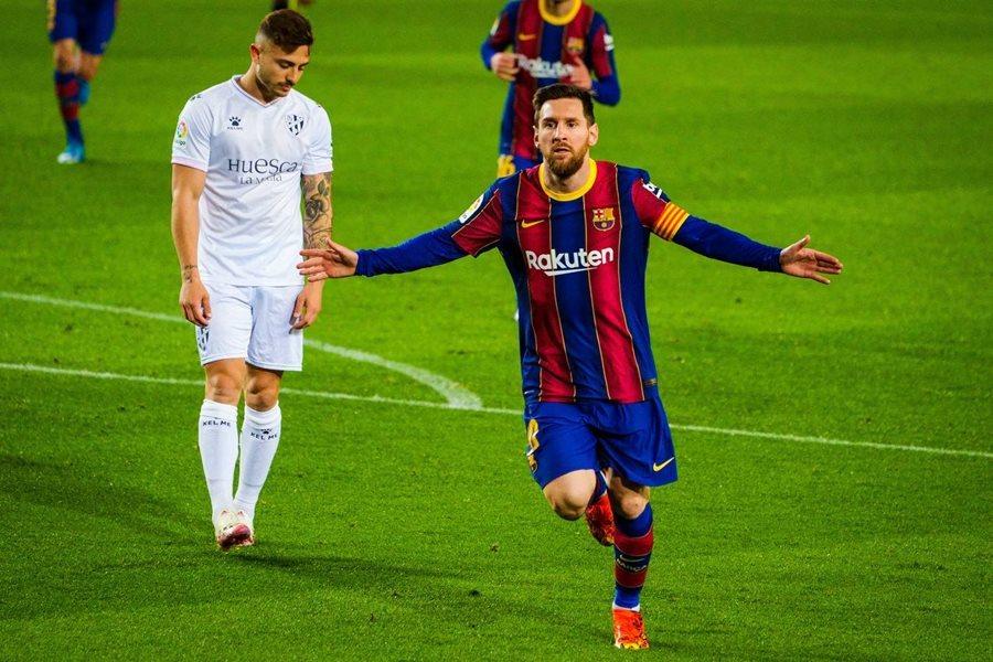 Messi lập kỷ lục, Barca đòi lại vị trí thứ 2 từ tay Real